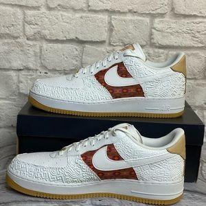 Nike AF1 07 LV8 Aztec CK6601 Sneaker Shoes Sz 13